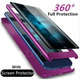 Puzdro pre Samsung Galaxy S9 S8 Plus Note 8 S7 Edge, 360 stupnov ochrana