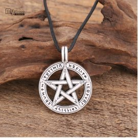 Náhrdelník Pentagram, talisman, starodávný ochranný symbol /Poštovné ZDARMA!
