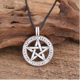 Náhrdelník Pentagram, talizman, starodávny ochranný symbol / Poštovné ZADARMO!