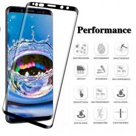 Tvrzené sklo pro Samsung Galaxy S7 S7 Edge S8 S8+ S9 S9+ A8 A8+ A6 A6+, Tempered glass 9H, 6D úplné porkytí displeje