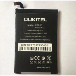 Battery for Oukitel K6000 Pro 6000mAh, Original