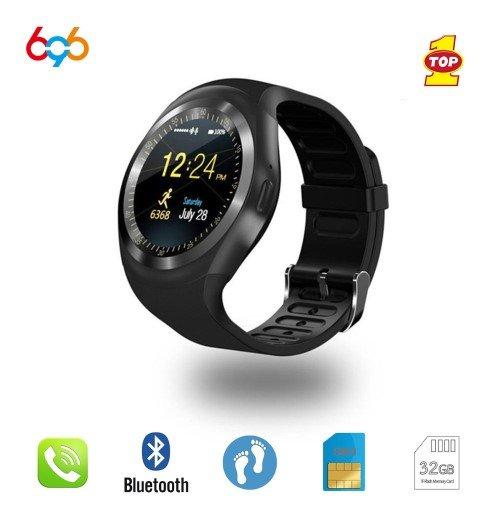 fba427681 Levné chytré hodinky 696 Y1 s telefonem, SIM karta, monitor spánku,  notifikace, krokoměr atd. - Darkyzciny.cz