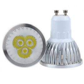 LED bodovka 220V GU10 MR16 E27 E14 LED 9W, aluminium