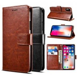 Pouzdro pro Nokia 2.1 6.1 5.1 5 3.1 2 3 X6 7 7 Plus 8, peněženka, stojánek, PU kůže