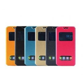 Case for Elephone P6000 Elephone P6000 PRO, View Window, flip, stand, PU leather