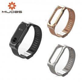 Kovový pásek pro Mi Band 2 MiBand 2, nerez ocel