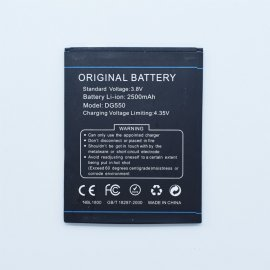 Battery for DOOGEE DG550 DOOGEE DAGGER DG550, 3.7V 2500mAh, ORIGINAL