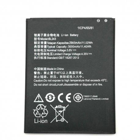 Baterie pro Lenovo K3 Note K50-T5 A7000 A5500 A5600 A7600, BL243, 3400mAh