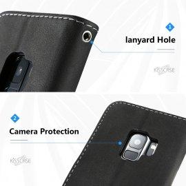 Univerzální pouzdro/peněženka pro iPhone 8 7 Plus 6 6S Plus For Samsung Galaxy S9 S8 Plus S8