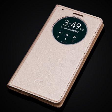 Pouzdro pro LG Optimus G3 D855 D850, flip, PU kůže
