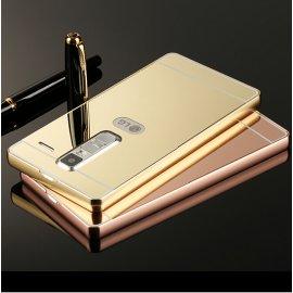 Pouzdro pro LG G2 G3 G4 LG G5 G3 Stylus G4 Stylus V10 Zero, ALU, zrcadlový efekt