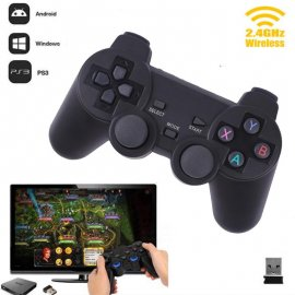 Bezdrátový ovladač gamepad pro Sony Playstation PS3 PC Android 2.4GHz Bluetooth