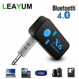 Bluetooth prehrávač do auta + 3,5mm audio reciever + MicroSD, handsfree BT 4.0 USB