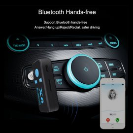 Bluetooth přehrávač do auta + 3,5mm audio reciever + MicroSD, Handsfree BT 4.0 USB