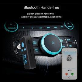 Bluetooth přehrávač do auta + 3,5mm audio reciever + MicroSD, Handsfree BT 4.0 USB