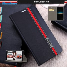 Puzdro pre Cubot R9, flip, stojan, peňaženka, PU kože
