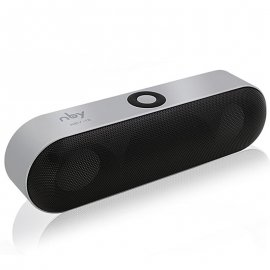 NBY-18 Wireless Speaker 3D Stereo 1200mAh, Bluetooth, FM, Micro SD, universal audio player for Android, iPhone etc.