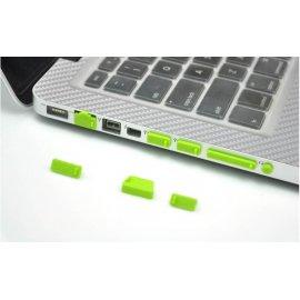 13ks protiprachových záslepek pro Notebooky / různé barvy, silikon