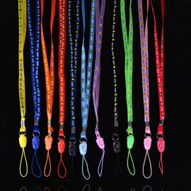 10pcs Mobile Phone Strap ID Card etc Necklace