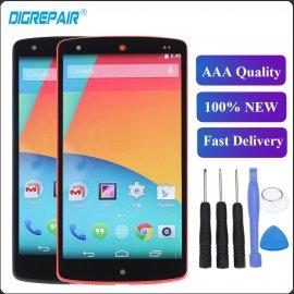 LCD obrazovka displej pre LG Nexus 5 Screen D820 D821 + dotyková vrstva digitizer + rámček