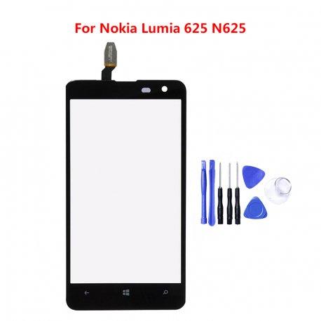Dotyková obrazovka pro Nokia Lumia 625 N625, digitizer + nástroje