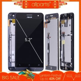 LCD obrazovka displej pro ASUS Zenfone 5 T00J A500KL A500CG A501CG + dotyková vrstva digitizer + rámeček