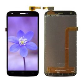 LCD Screen for Doogee Valencia 2 Y100 Pro LCD + Touch Film Digitizer + Frame