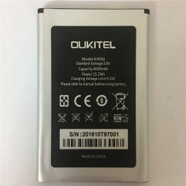 Battery for Oukitel K4000 Pro, 4000mAh, Original