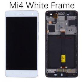 LCD obrazovka pro Xiaomi Mi4 Mi 4 M4 LCD + dotyková vrstva digitizer + rámeček
