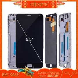 LCD screen for MEIZU M2 Note LCD + touch screen digitizer + frame