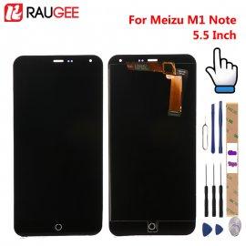 LCD obrazovka pre Meizu M1 Note LCD + dotyková vrstva digitizer + rámček