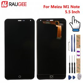 LCD screen for Meizu M1 Note LCD + touch screen digitizer + frame