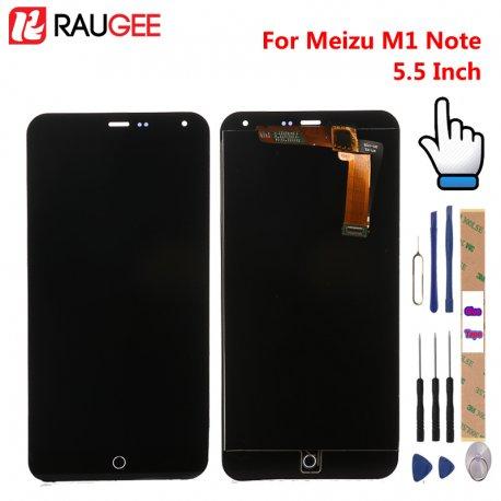 LCD obrazovka pro Meizu M1 Note LCD + dotyková vrstva digitizer + rámeček