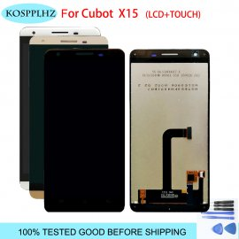 LCD screen for Cubot X15 X 15 LCD + touch layer digitizer + frame