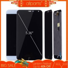 LCD screen for MEIZU MX4 LCD + touch screen digitizer + frame