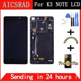 LCD screen for Lenovo K3 Note + touch layer digitizer, original