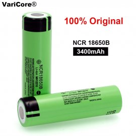Nabíjacie batérie NCR18650B 3.7V 3400mAh 18650 Lithium pre svietidlá