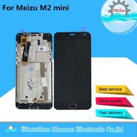 LCD obrazovka pre Meizu M2 Mini M578M M578U M578H M578 LCD + dotyková vrstva digitizer + rámček