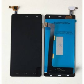 LCD screen for THL 5000 LCD + touch screen digitizer + frame