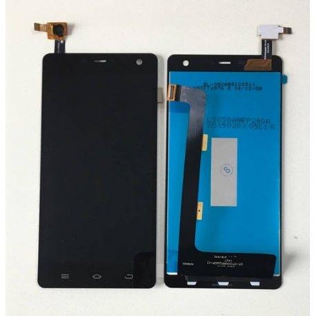 LCD obrazovka pro Ulefone Paris LCD + dotyková vrstva digitizer + rámeček