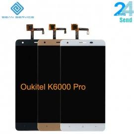 LCD obrazovka pre Oukitel K6000 Pre LCD + dotyková vrstva digitizer + rámček, original