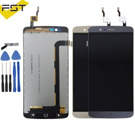 LCD screen for Elephone P8000 LCD + touch layer digitizer + frame