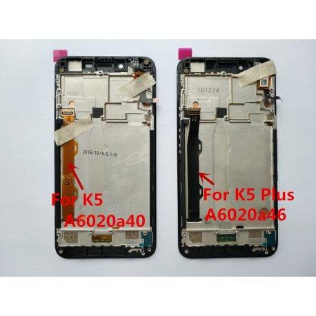 Dotyková obrazovka pro Lenovo vibe k5 plus A6020a46, digitizer + nástroje