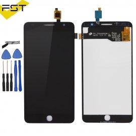 LCD obrazovka pro Alcatel One Touch Pop Star 3G OT5022 OT 5022 OT-5022 5022X 5022D LCD + dotyková vrstva digitizer + rámeček