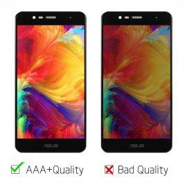 LCD obrazovka pro Asus Zenfone 3 Max ZC520TL LCD + dotyková vrstva digitizer + rámeček