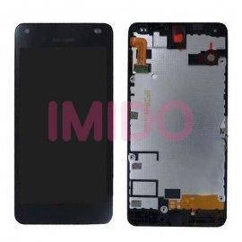 LCD obrazovka pro Nokia Lumia 550 RM-1127 LCD + dotyková vrstva digitizer + rámeček