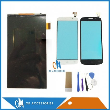 new list various design new concept LCD Screen for Alcatel One Touch POP C7 OT7040 7040E 7041D 7040A LCD +  touch screen digitizer + frame - Darkyzciny.cz