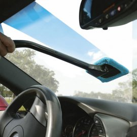 Car windscreen cleaner, microfiber