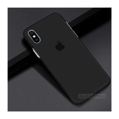 Průsvitné pouzdro pro iPhone 7 6 6S plus 8 X XS XR max, ultratenké 0.3mm