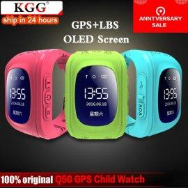 GPS chytré detské hodinky Q50, Telefón GSM GPRS, GPS, SMS, BT, pedometer, SMS, Anti-lost, monitor spánku, SOS atď.